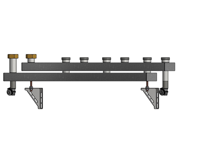 heizungsverteiler pewosplit qt40 3 fach. Black Bedroom Furniture Sets. Home Design Ideas